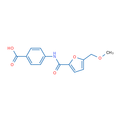 4-(5-(Methoxymethyl)furan-2-carboxamido)benzoic acid