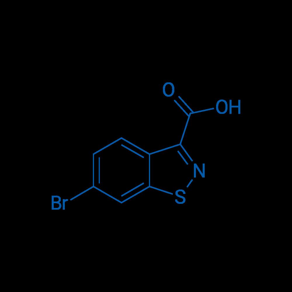 6-Bromobenzo[d]isothiazole-3-carboxylic acid