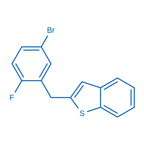 2-(5-Bromo-2-fluorobenzyl)benzo[b]thiophene
