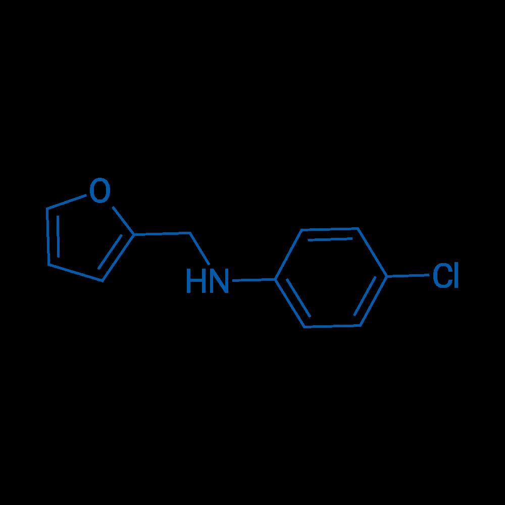 4-Chloro-N-(furan-2-ylmethyl)aniline