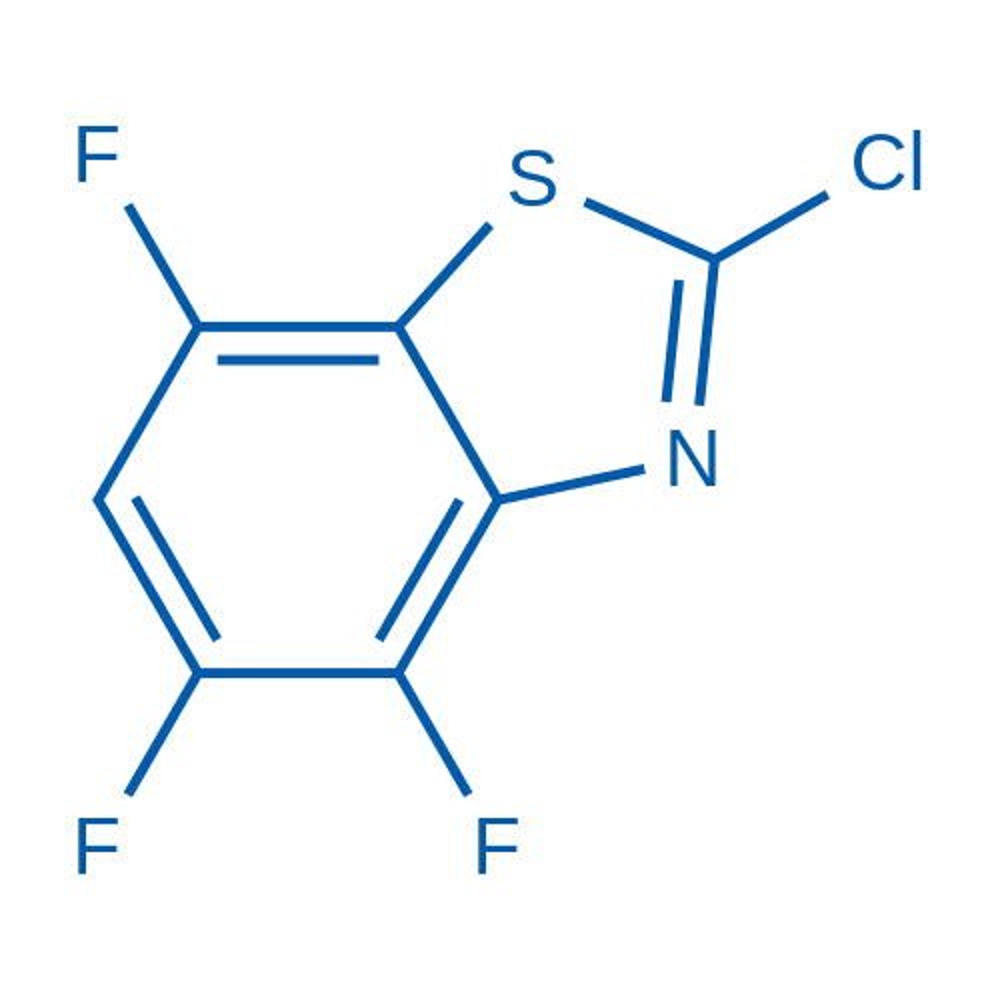 2-Chloro-4,5,7-trifluorobenzo[d]thiazole