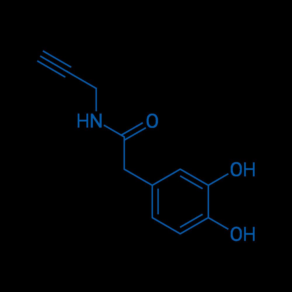 2-(3,4-Dihydroxyphenyl)-N-(prop-2-yn-1-yl)acetamide