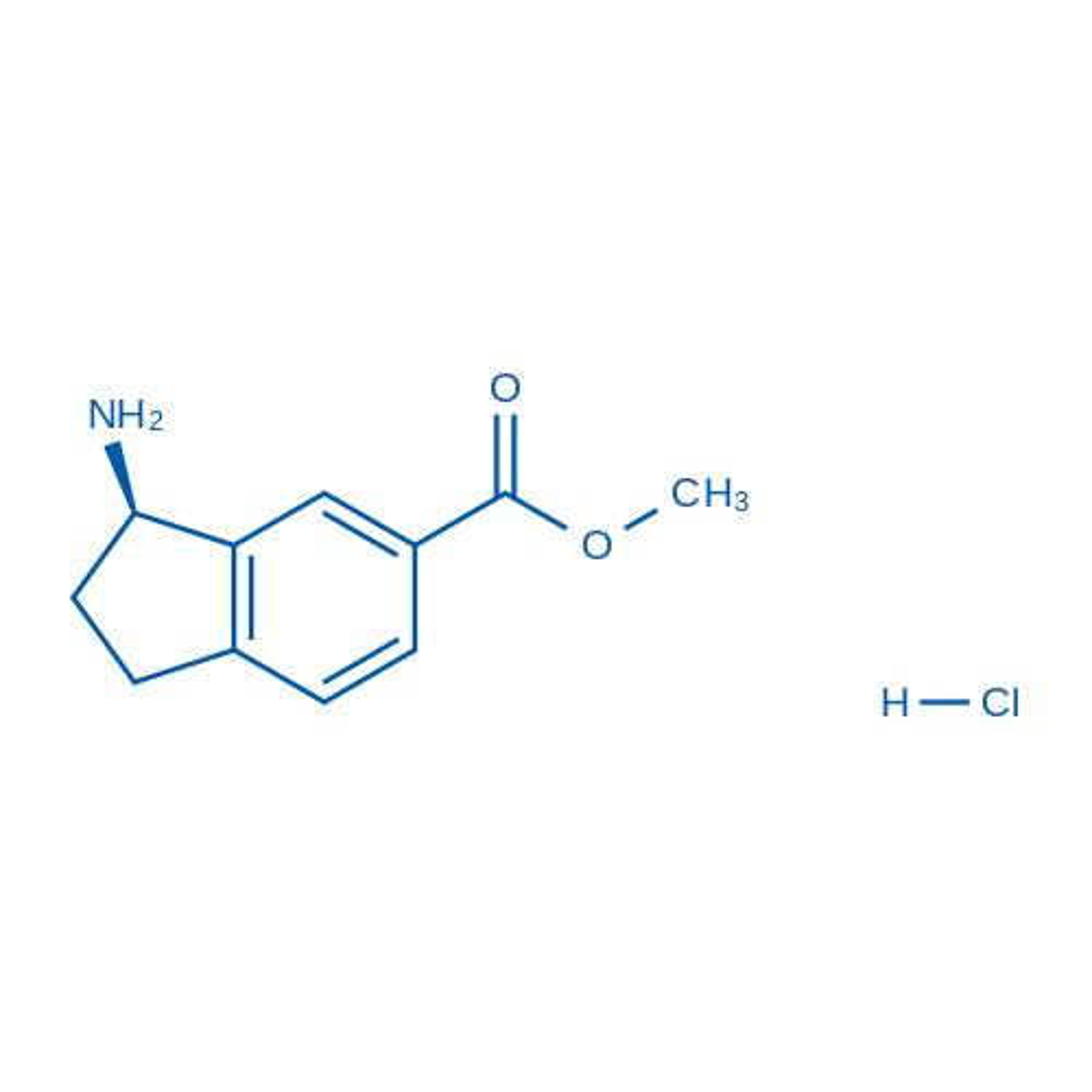 (R)-Methyl 3-amino-2,3-dihydro-1H-indene-5-carboxylate hydrochloride