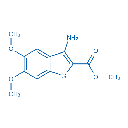 Methyl 3-amino-5,6-dimethoxybenzo[b]thiophene-2-carboxylate