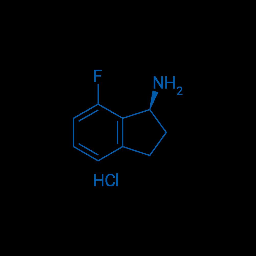 (S)-7-Fluoro-2,3-dihydro-1H-inden-1-amine hydrochloride