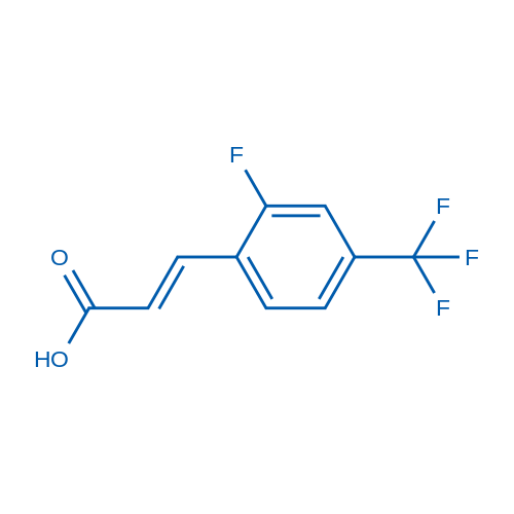 3-(2-Fluoro-4-(trifluoromethyl)phenyl)acrylic acid