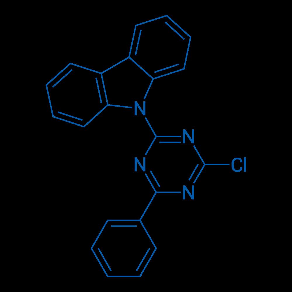 9-(4-Chloro-6-phenyl-1,3,5-triazin-2-yl)-9H-carbazole