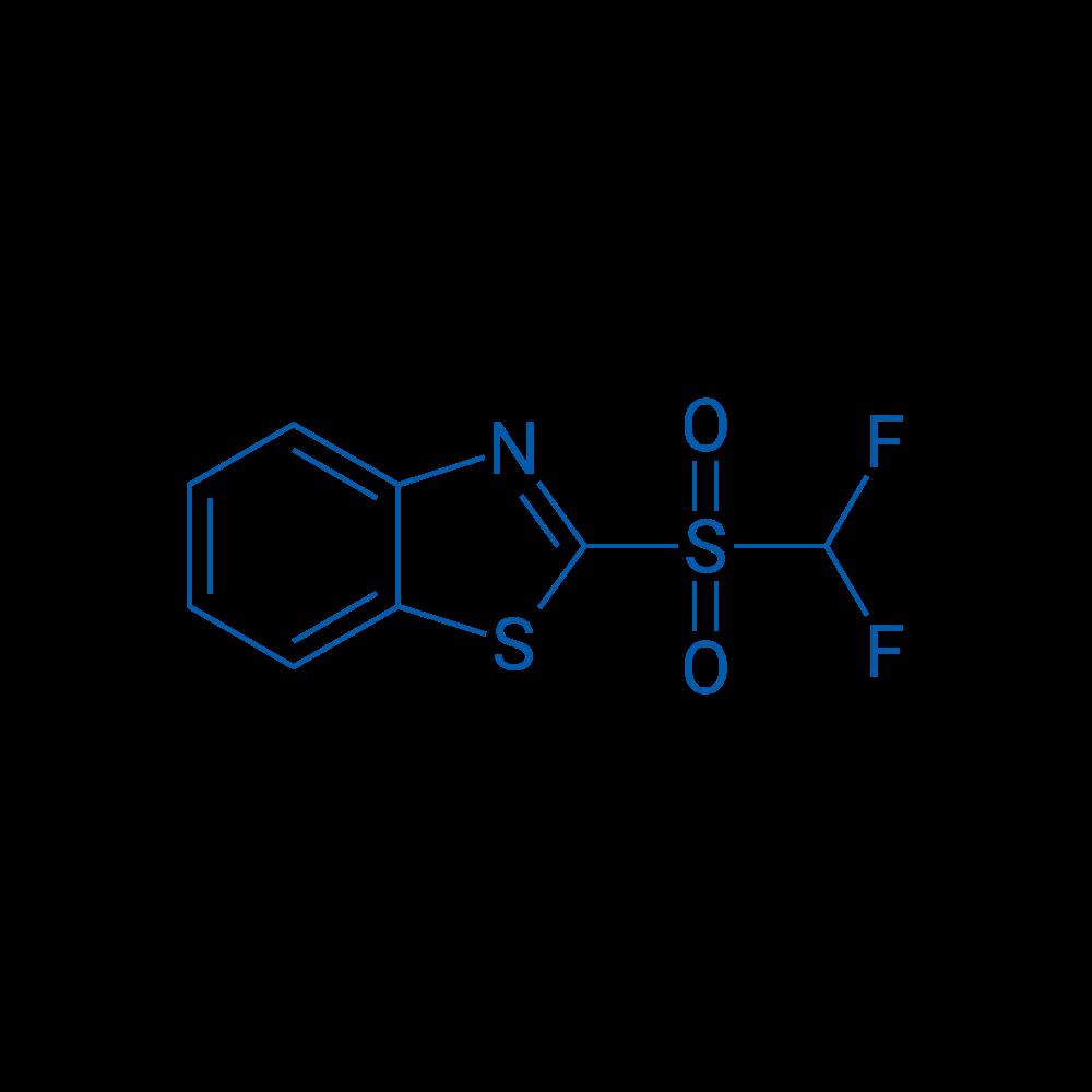 2-((Difluoromethyl)sulfonyl)benzo[d]thiazole