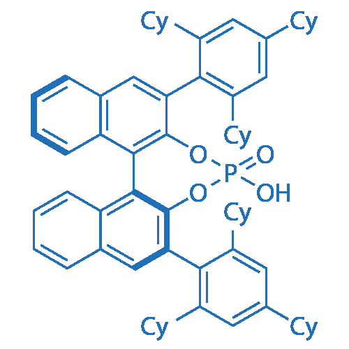 (S)-4-Hydroxy-2,6-bis(2,4,6-tricyclohexylphenyl)dinaphtho[2,1-d:1',2'-f][1,3,2]dioxaphosphepine 4-oxide