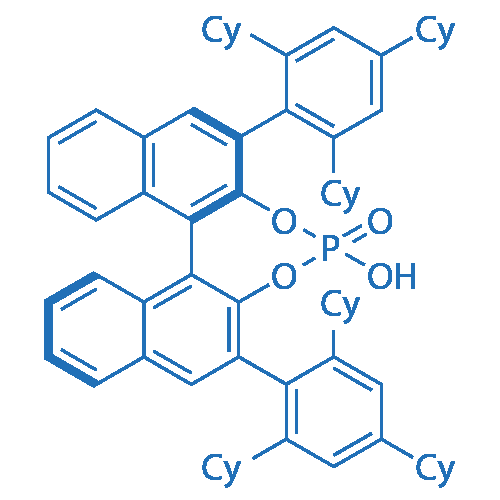 (R)-4-Hydroxy-2,6-bis(2,4,6-tricyclohexylphenyl)dinaphtho[2,1-d:1',2'-f][1,3,2]dioxaphosphepine 4-oxide