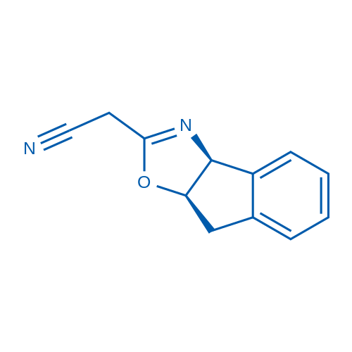 2-((3aS,8aR)-8,8a-Dihydro-3aH-indeno[1,2-d]oxazol-2-yl)acetonitrile