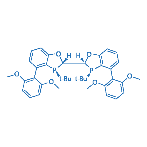 (2S,2'S,3S,3'S)-3,3'-Di-tert-butyl-4,4'-bis(2,6-dimethoxyphenyl)-2,2',3,3'-tetrahydro-2,2'-bibenzo[d][1,3]oxaphosphole