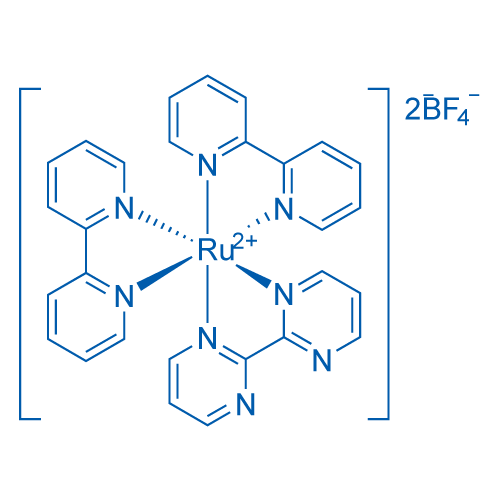 Bis (2,2'-bipyridyl) (2,2'-bipyrimidine) ruthenium tetrafluoroborate