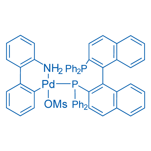 [2'-(Amino-κN)[1,1'-biphenyl]-2-yl-κC][[2'-(diphenylphosphino)[1,1'-binaphthalen]-2-yl]diphenylphosphine-κP](methanesulfonato-κO)palladium