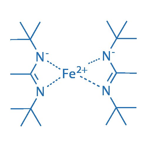 Bis(N,N'-di-t-butylacetamidinato)iron (II)