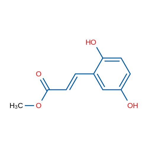 (E)-Methyl 3-(2,5-dihydroxyphenyl)acrylate