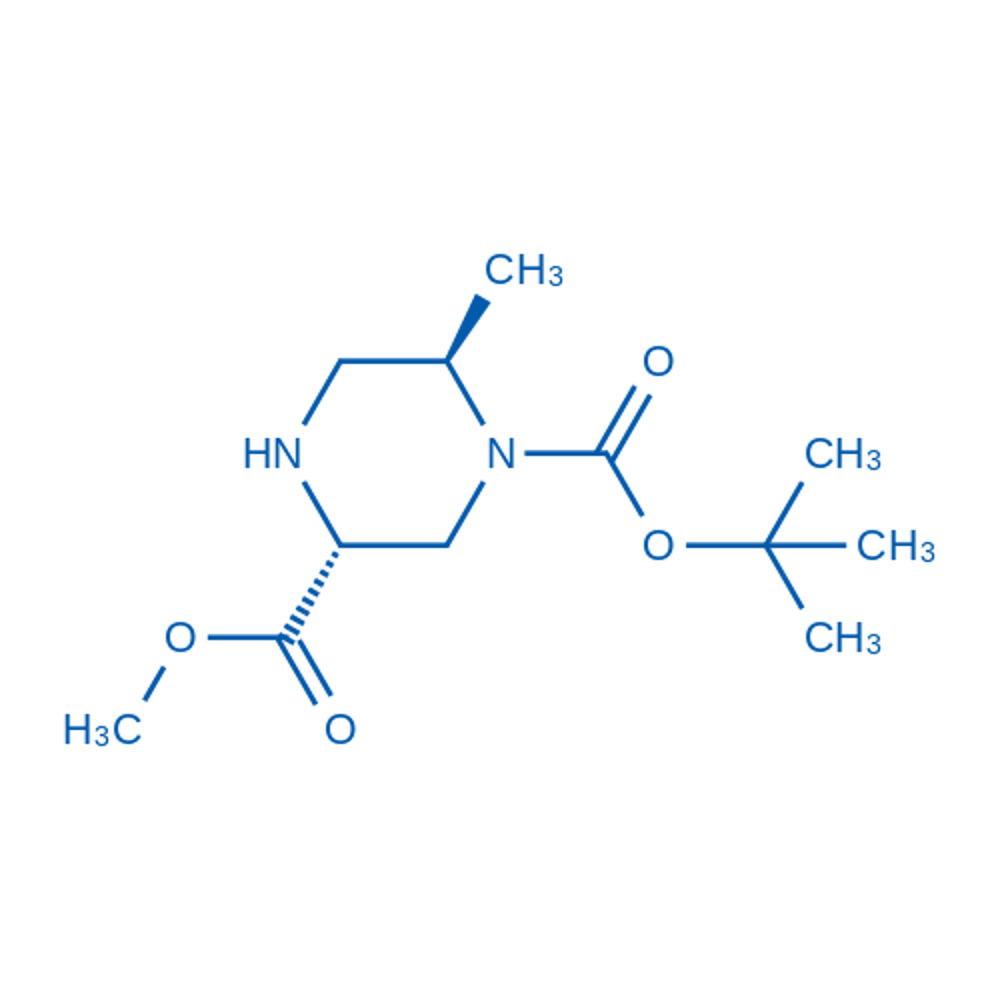 (3R,6R)-1-tert-Butyl 3-methyl 6-methylpiperazine-1,3-dicarboxylate