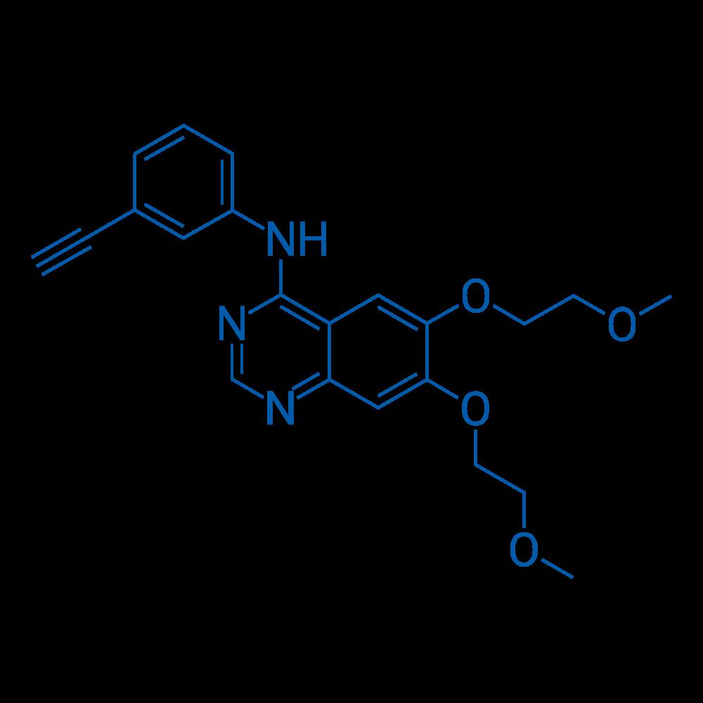 4-[(3-Ethynylphenyl)amino]-6,7-bis(2-methoxyethoxy)quinazoline