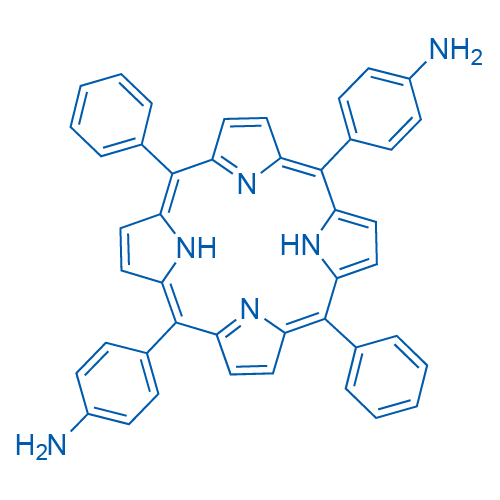 4,4-(10,20-Diphenyl-21H ,23H -porphine-5,15-diyl)bis[benzenamine]