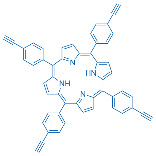 5,10,15,20-Tetrakis(4-ethynylphenyl)-21H ,23H -porphine