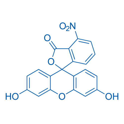 3',6'-Dihydroxy-4-nitro-3H-spiro[isobenzofuran-1,9'-xanthen]-3-one