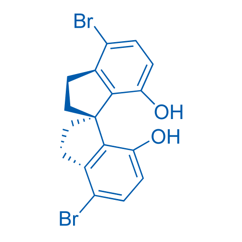 (R)-4,4'-Dibromo-2,2',3,3'-tetrahydro-1,1'-spirobi[indene]-7,7'-diol