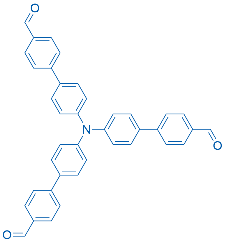 [1,1-Biphenyl]-4-carboxaldehyde, 4-[bis(4-formyl[1,1-biphenyl]-4-yl)amino]-