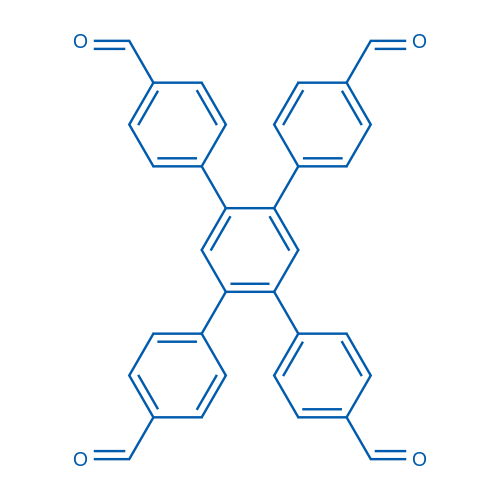 [1,1:2,1-Terphenyl]-4,4-dicarboxaldehyde, 4,5-bis(4-formylphenyl)-
