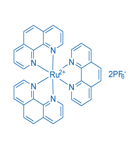 Ruthenium(2+), tris(1,10-phenanthroline-κN1,κN10)-, (OC-6-11)-, hexafluorophosphate(1-) (1:2)