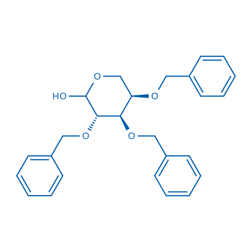 (3S,4R,5R)-3,4,5-Tris(benzyloxy)tetrahydro-2H-pyran-2-ol