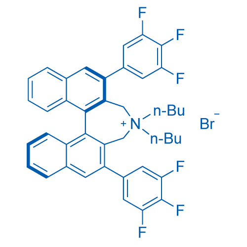 (11bR)-4,4-Dibutyl-2,6-bis(3,4,5-trifluorophenyl)-4,5-dihydro-3H-dinaphtho[2,1-c:1',2'-e]azepinium bromide