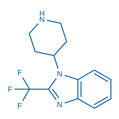 1-(Piperidin-4-yl)-2-(trifluoromethyl)-1H-benzo[d]imidazole