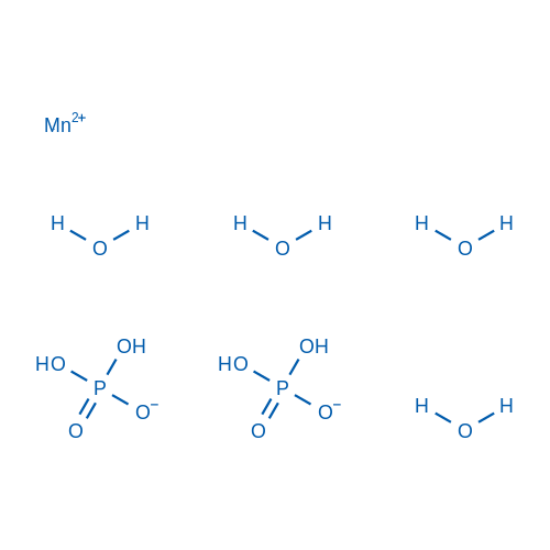 Manganese phosphate acid tetrahydrate