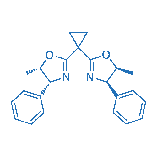 (3aR,3a'R,8aS,8a'S)-2,2'-(Cyclopropane-1,1-diyl)bis(8,8a-dihydro-3aH-indeno[1,2-d]oxazole)