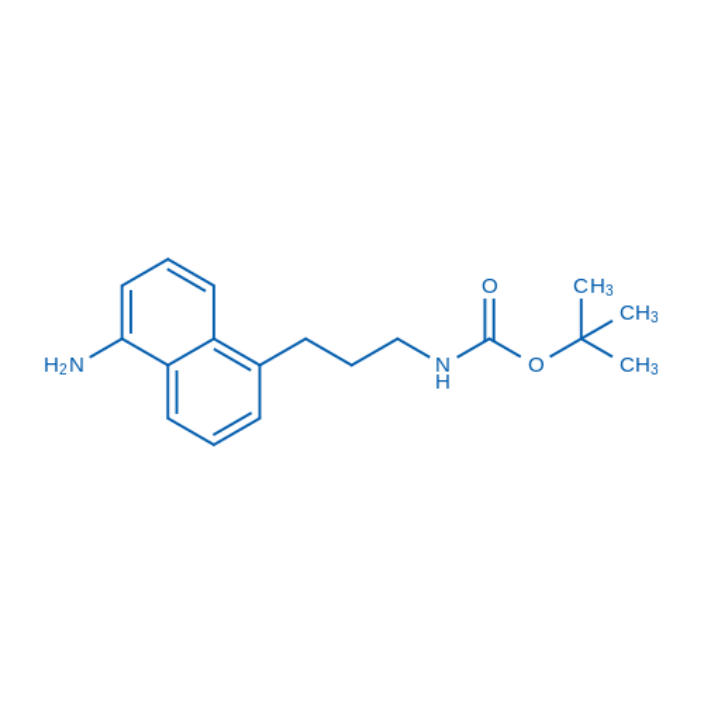 tert-Butyl (3-(5-aminonaphthalen-1-yl)propyl)carbamate