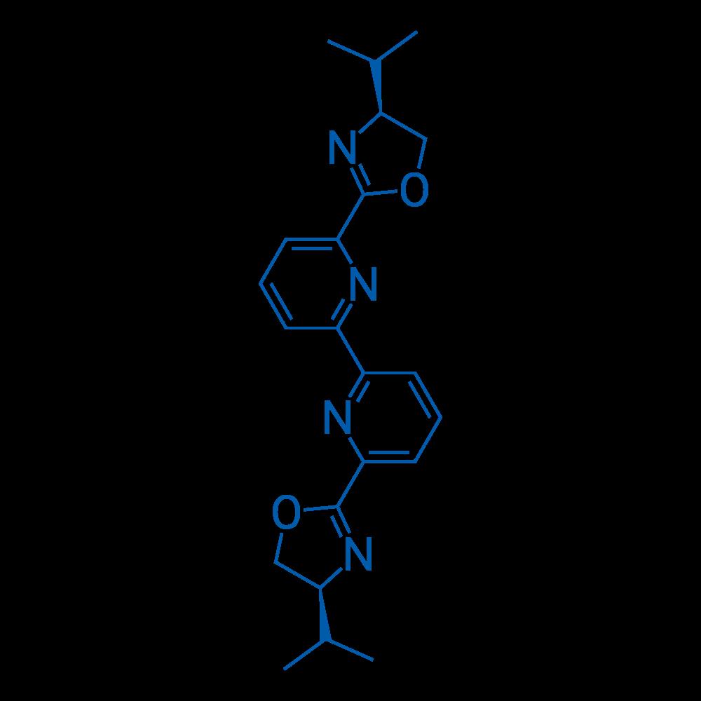 6,6′-Bis(4-(S)-isopropyl-2-oxazolinyl)-2,2′-bipyridine