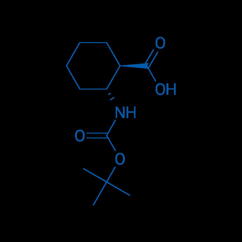 (1R,2R)-2-((tert-Butoxycarbonyl)amino)cyclohexanecarboxylic acid