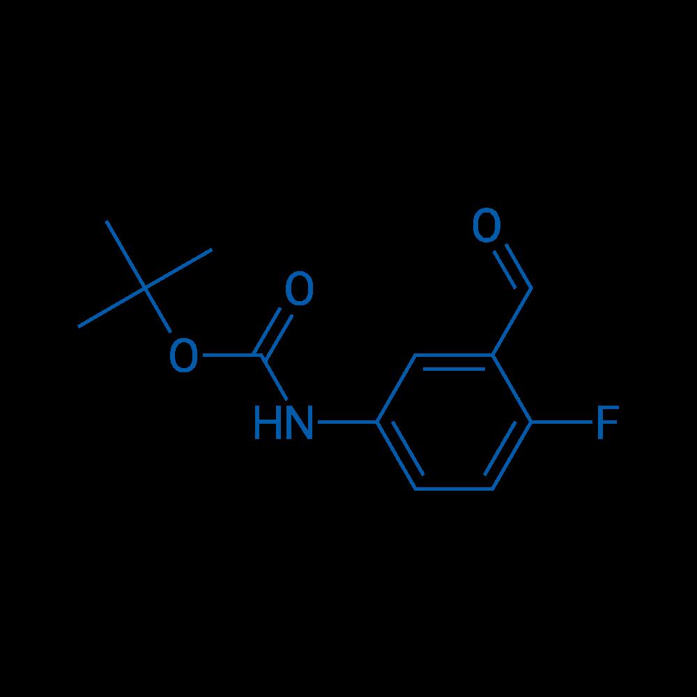 tert-Butyl (4-fluoro-3-formylphenyl)carbamate