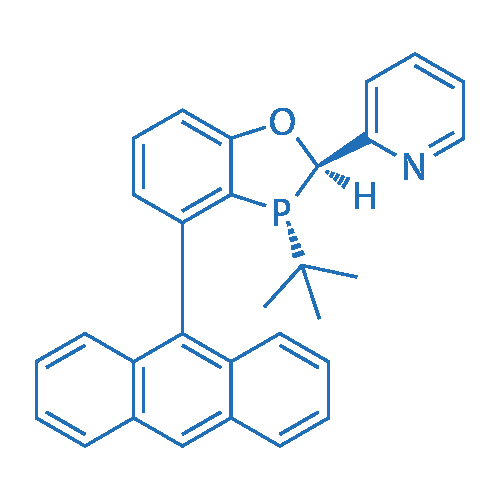 2-((2R,3R)-4-(anthracen-9-yl)-3-(tert-butyl)-2,3-dihydrobenzo[d][1,3]oxaphosphol-2-yl)pyridine