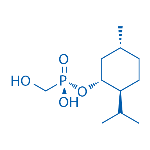 (Rp)-Hydroxymethylphosphonic acid [(-)-(1R,2S,2R)-2-i-propyl-5-methylcyclohexanol]ester