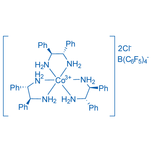 OC-6-11-delta-Tris[(1S,2S)-1,2-diphenyl-1,2-ethanediamine]cobalt(III) chloride tetrakis(2,3,4,5,6-pentafluorophenyl)borate