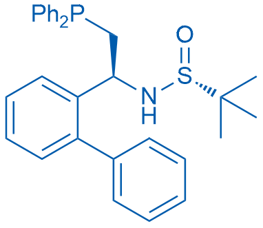 (R)-N-((S)-1-([1,1'-Biphenyl]-2-yl)-2-(diphenylphosphanyl)ethyl)-2-methylpropane-2-sulfinamide