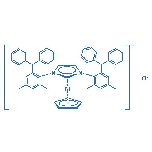 Chloro(cyclopentadienyl){1,3-bis[2-(diphenylmethyl)-4,6-dimethylphenyl]1H-imidazolium}nickel(II)
