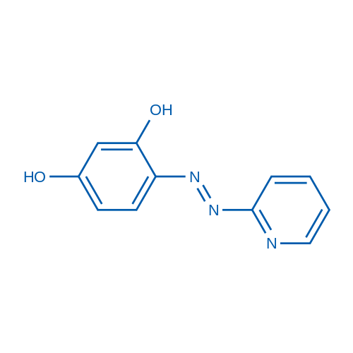 4-(Pyridin-2-yldiazenyl)benzene-1,3-diol
