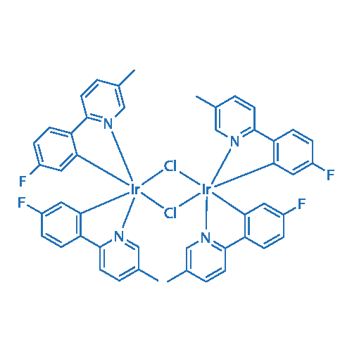 Di-μ-chlorotetrakis[5-fluoro-2-(5-methyl-2-pyridinyl-κN)phenyl-κC]diiridium