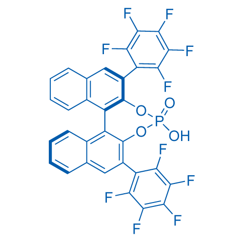 (11bR)-4-Hydroxy-2,6-bis(perfluorophenyl)dinaphtho[2,1-d:1',2'-f][1,3,2]dioxaphosphepine 4-oxide
