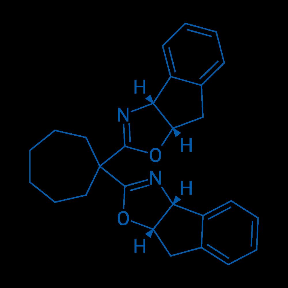 (3AR,3a'R,8aS,8a'S)-2,2'-(cycloheptane-1,1-diyl)bis(3a,8a-dihydro-8H-indeno[1,2-d]oxazole)