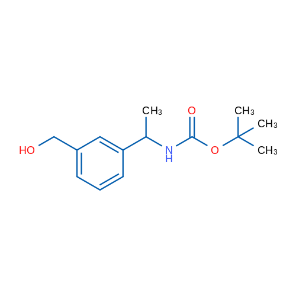 tert-Butyl (1-(3-(hydroxymethyl)phenyl)ethyl)carbamate