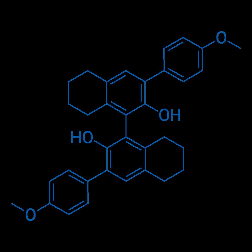 (S)-5,5',6,6',7,7',8,8'-Octahydro-3,3'-bis(4-methoxyphenyl)-[1,1'-binaphthalene]-2,2'-diol