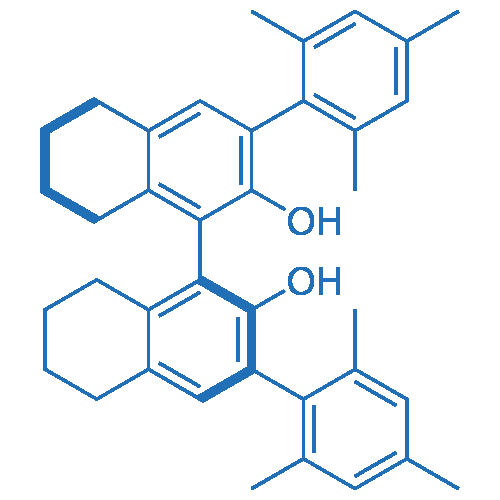 (S)-5,5',6,6',7,7',8,8'-Octahydro-3,3'-bis(2,4,6-trimethylphenyl)-[1,1'-binaphthalene]-2,2'-diol